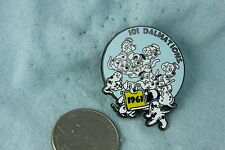 WILLABEE & WARD PIN 101 DALMATIONS 1961 COMES WITH FACT CARD
