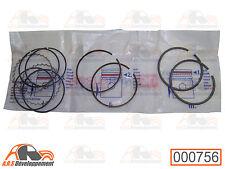 KIT SEGMENTS 1,5x2x4 pour 2 pistons 602cc de Citroen 2CV DYANE MEHARI AMI8 -756-