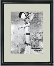 Audrey Hepburn My Fair Lady signed framed photo
