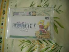 VGA 90 NINTENDO SUPER FAMICOM FINAL FANTASY V JAPAN NEW FROM FACTORY CASE!