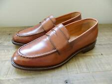 JCREW Ludlow Leather Penny Loafers Shoes $298 10.5 english tan brown a4362 swag