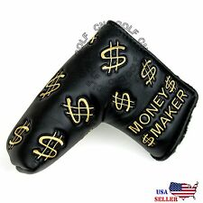 Money Maker Putter Cover Headcover For Scotty Cameron Taylormade Odyssey Blade