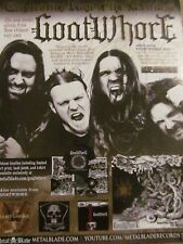 Goatwhore, Constricting Rage of the Merciless, Full Page Promotional Ad