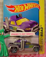 Case L 2015 Hot Wheels DIESEL DUTY truck #117∞Purple/Green∞Off-Road∞