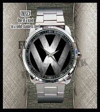 Volkswagen VW Jetta Stainless Steel Analogue Sport Metal Watch