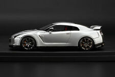 NISSAN GT-R R35 **ULTIMATE SILVER** -- HPI 1/43 #8404 RESIN