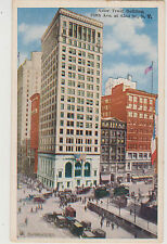 ASTOR TRUST BLDG STILL STANDING, LARGEST OWNER OF NYC REAL ESTATE, 5TH & 42ND