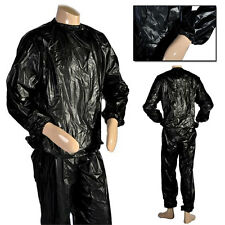 MAXSTRENGTH PU Sweat Sauna Suit Weight loss fitness exercise running For Uni-Sex
