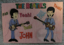 Beatles prototype lenticular postcard - one of only 5 in existence!