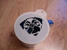 Taglio laser della faccia carlino Caffè e Craft Stencil