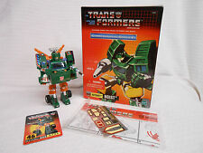 Transformers G1 Hoist Commemorative Series 5 V Reissue CIB Complete Open Used