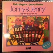 LP Udo Jürgens  Jonny & Jenny   mit WANDKALENDER!! MEGARAR & TOP!!