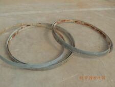 5 Metal Ring, Hoops From Used Wine Barrels