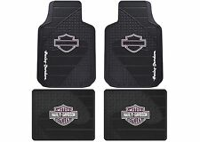 Plasticolor Universal Fit Harley Pink B&S Front & Rear Floor Mats New Free Ship