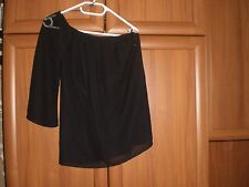 """Blouse""""Only""""Collection Kristy One Shoulder Top Black Size:12 (UK)Eur M New With"""
