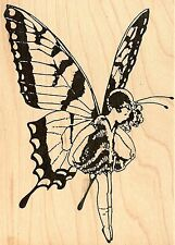 Butterfly Fairy, Wood Mounted Rubber Stamp JUDIKINS, NEW - 1767H