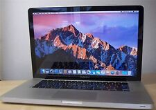 "15"" Apple MacBook Pro 2.4GHz i5 4GB RAM New 1TB SSHD A1286 Sierra Mid 2010"