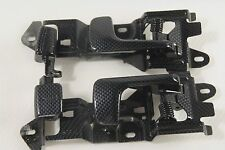 JDM HONDA CIVIC EK9 EK4 EK3 OEM INNER DOOR HANDLES IN CARBON LOOK FINISH CTR