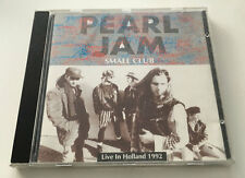 "Pearl Jam ""SMALL CLUB"" Live CD Live in Holland 1992 MINT silver bootleg"
