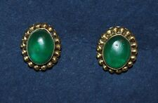 New Green Stud Earrings - Fairly Traded Ethnic Hippy Boho Ethical Hippie