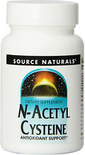 N-Acetyl Cysteine, Source Naturals, 30 Tablet 1000 mg