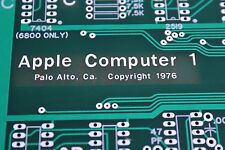 APPLE 1 COMPUTER MOTHERBOARD PCB REPLICA PRE NTI NEWTON 1  JOBS WOZ APPLE I