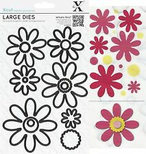 DOCRAFTS XCUT LARGE PETAL POSY DECORATIVE FLOWERS CUTTING DIES SET - NEW