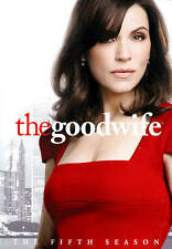 THE GOOD WIFE: The Fifth Season 5 (DVD) Five *NEW* FAST FREE SHIPPING