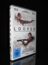 DVD LOOPER - BRUCE WILLIS + EMILY BLUNT - SCIENCE-FICTION-ACTION-THRILLER * NEU