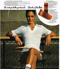 PUBLICITE  1972   CHARLES OF THE RITZ  cosmétiques