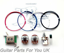 500k Stratocaster fat strat wiring kit MINI pots push pull pot 0.022uf ST