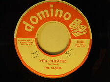 The Slades 45 You Cheated / The Waddle r+r ~ Domino VG+ to VG++
