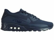 Nike Air Max 90 Ultra Moire Mens 819477-400 Navy Blue Running Shoes Size 13