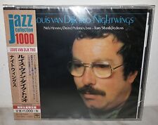 CD LOUIS VAN DIJK TRIO - NIGHTWINGS - JAPAN SICP 4068