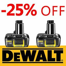 2 Pack - New DeWALT Battery DE9141 14.4V 1,1Ah Lithium Li-Ion