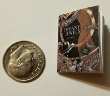 Miniature Dollhouse  Barbie 1/12 Scale Book Jewelry Cartier  Tiffany Faberge