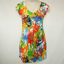 NWT Jams World Spun Rayon Hawaiian Sherry Dress in Montpellier XL Made in USA