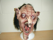 ZOMBIE WITCH MONSTER WOLF SCARY ADULT HALLOWEEN LATEX MASK FANCY DRESS COSTUME