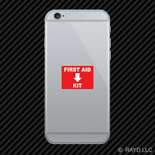 First Aid Kit Cell Phone Sticker Mobile Die Cut emergency rescue