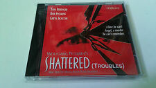 "ORIGINAL SOUNDTRACK ""SHATTERD (TROUBLES)"" CD 13 TRACKS ALAN SILVESTRI BSO OST"