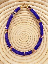 African Maasai Beaded Choker Necklace Masai Massai ethnic tribal boho jnmr104