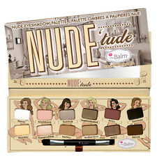 The Balm Nude Dude Tude Naughty Eyeshadow Palette (12 Shades) NEW theBalm