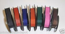 7 pack Colored Olympia SM9 Typewriter Ribbons in new Colors (Free Ship in USA)