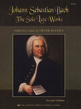 Bach Solo Lute Works Arranged For Guitar Play Classical Baroque Music Book