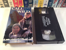 Call Of The Wild Family Adventure VHS 1993 OOP HTF Rick Schroeder Mia Sara
