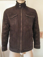 "Men Burton suede jacket size M/38""-41"" brown colour Nike"