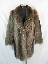 Jil Sander Coat M Raccoon Fur Coat M Racoon Fur Coat Car Coat