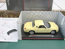1/18 SCALE Maisto Thunderbird Show Car Premiere Edition used with box yellow