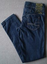 Women's River Island The Boyfriend Jeans Size 8R (Eur 34R) W26 L31 Blue Tapered