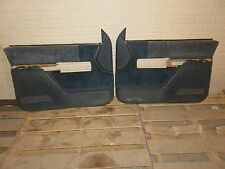 88-94 Chevy truck door panel L&R set Silverado Sierra BLUE OEM 89 90 91 92 93 94